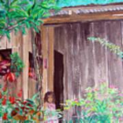 La Cabana Art Print