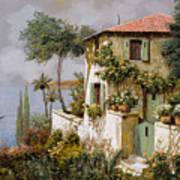 La Casa Giallo-verde Art Print