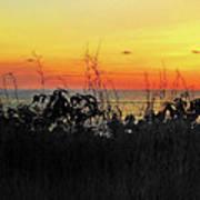 la Casita Playa Hermosa Puntarenas Costa Rica - Sunset A Panorama Art Print