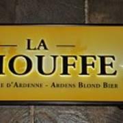 La Chouffe Sign Art Print
