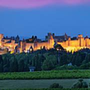 La Cite Carcassonne Art Print by Brian Jannsen