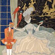 La Comtesse From Personages De Comedie Art Print