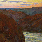 La Creuse, Sunset Art Print