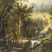 La Cueva Del Guaracho, Venezuela Art Print