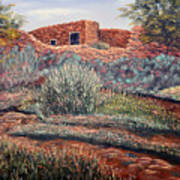 La Cueva New Mexico Art Print