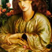 La Donna Della Finestra Art Print