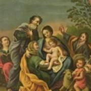 La Familia Con Los Santos Juanes Art Print