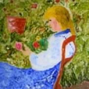 La Fleuriste Art Print