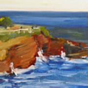 La Jolla Cove 017 Art Print