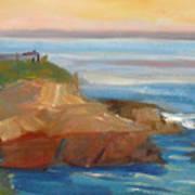 La Jolla Cove 018 Art Print