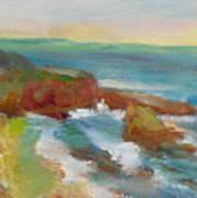 La Jolla Cove 019 Art Print