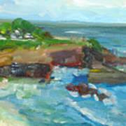 La Jolla Cove 022 Art Print