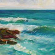 La Jolla Cove 027 Art Print