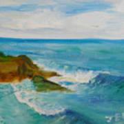 La Jolla Cove 029 Art Print