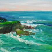 La Jolla Cove 032 Art Print