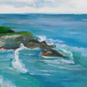 La Jolla Cove 033 Art Print