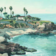 La Jolla Cove In December, La Jolla, San Diego, California Art Print