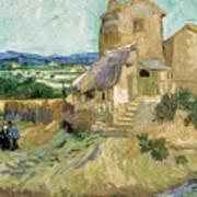 La Maison De La Crau The Old Mill Art Print