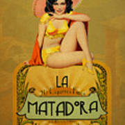la Matadora Art Print