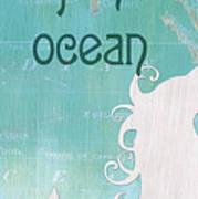 La Mer Mermaid 1 Art Print