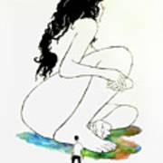 La Mutana Mujer Art Print
