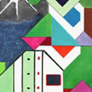La Notte Sopra La Citta Verde - Part V Art Print