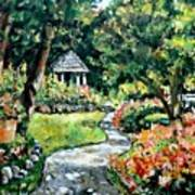 La Paloma Gardens Art Print