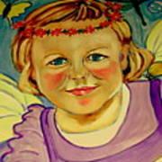 La Petite Fee   The Little Fairy Art Print