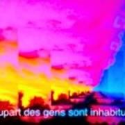La Plupart Des Gens Sont Inhabituelles / Most People Are Unusual Art Print