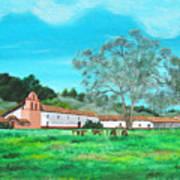 La Purisima Mission Art Print