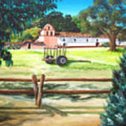 La Purisima With Fence Art Print