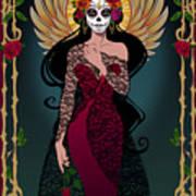 La Rosa Art Print