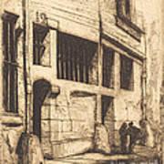 La Rue Des Mauvais Gar?ons, Paris (the Street Of The Bad Boys) Art Print