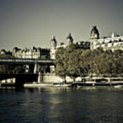 La Seine I Art Print