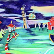 La Tempesta - Grand Canal Palace Art Print