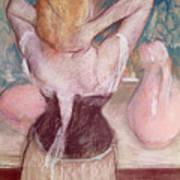 La Toilette Print by Edgar Degas