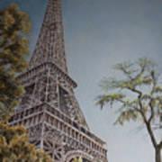 La Tour Eiffel 2 Art Print