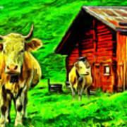 La Vaca Art Print