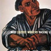 Labor Poster, 1930s Art Print