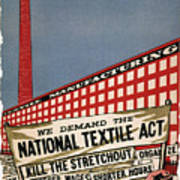 Labor Poster, 1935 Art Print