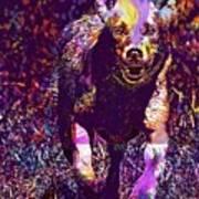 Labrador Puppy Retriever Dog Young  Art Print