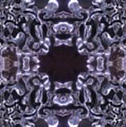 Lace Ice On Monadnock - 4 Art Print