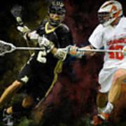 Lacrosse Close D #2 Art Print