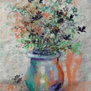 Lacy Bouquet Art Print