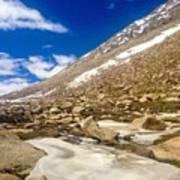 Ladakh  Art Print