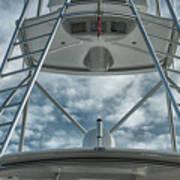 Ladders On A Fishing Boat Art Print