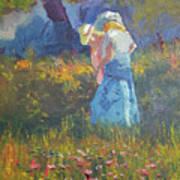 Ladies In The Woods Art Print