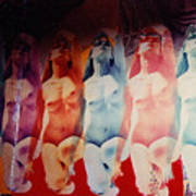 Ladies Room Art Print