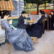 Ladies Sewing Art Print