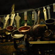 Ladles Of Tibet Art Print